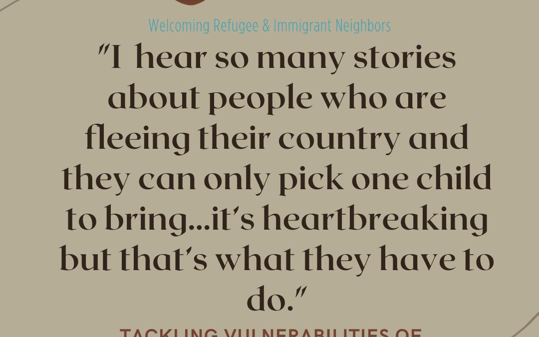 Tackling Vulnerabilities of Displaced Populations, Feat. Krista Allgor