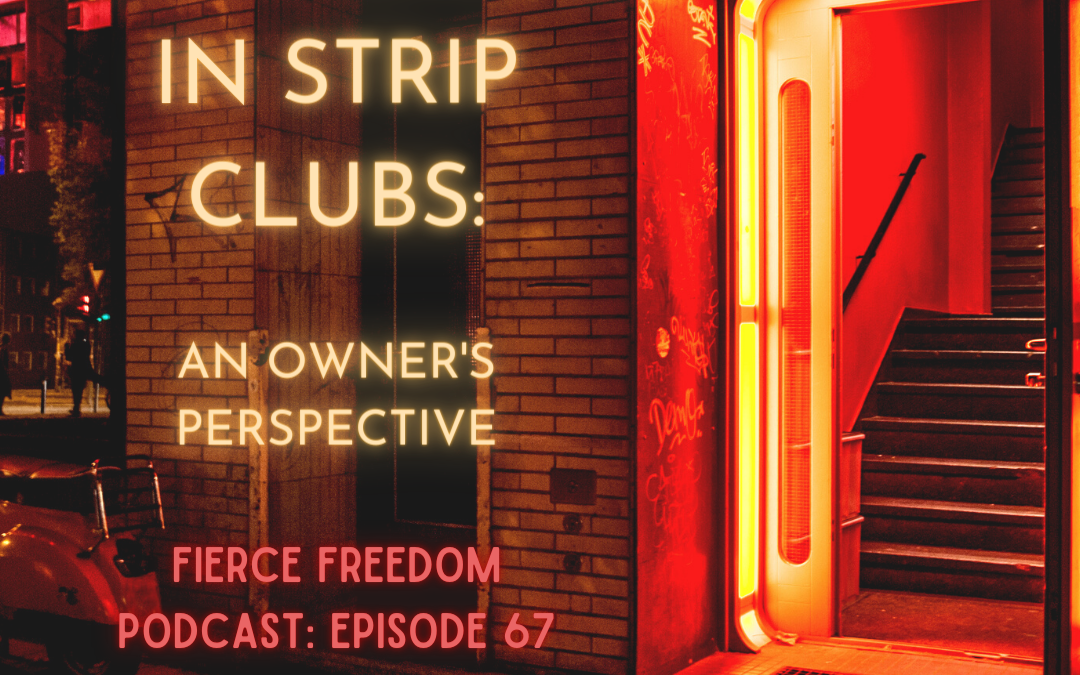 Trafficking in Strip Clubs: An Owners Perspective